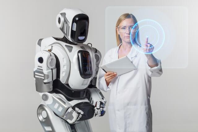 ロボットと女性③