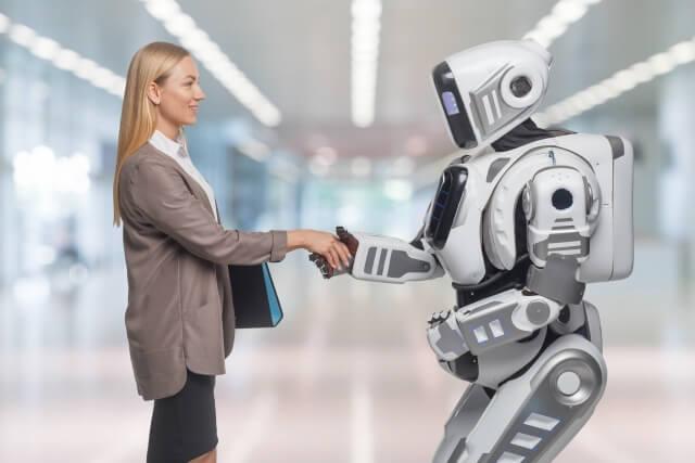 ロボットと女性②