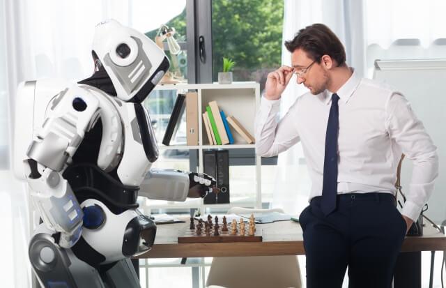 ロボットと男性⑤