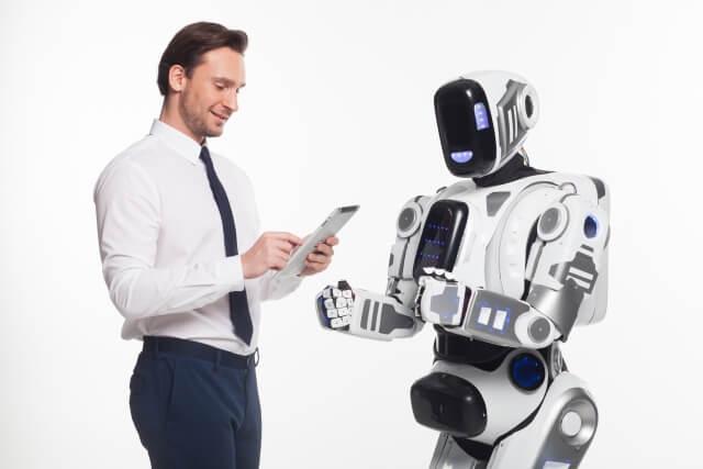 ロボットと男性③