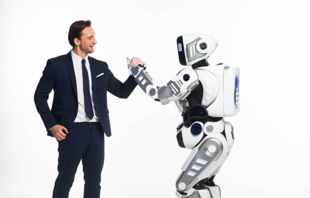 ロボットと男性①