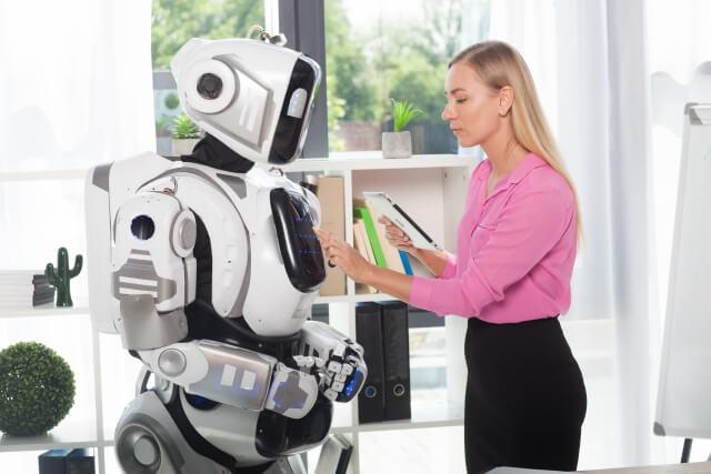 ロボットろ女性⑩
